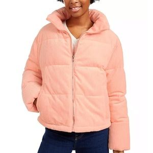 Collectuon B peach puffer jacket NWT